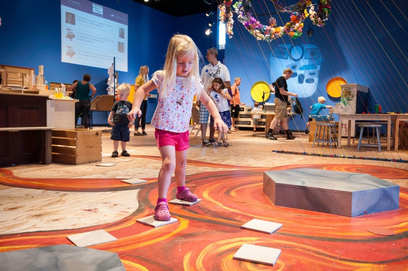 Creativity Jam:  The Best Children's Exhibits Nationally