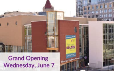 """Minnesota Children's Museum Celebrates Expansion and Renovation  with """"Sneak Peek Days"""" and Grand Opening Events"""