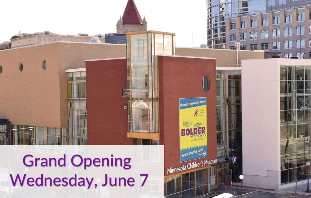 "Minnesota Children's Museum Celebrates Expansion and Renovation with ""Sneak Peek Days"" and Grand Opening Events"