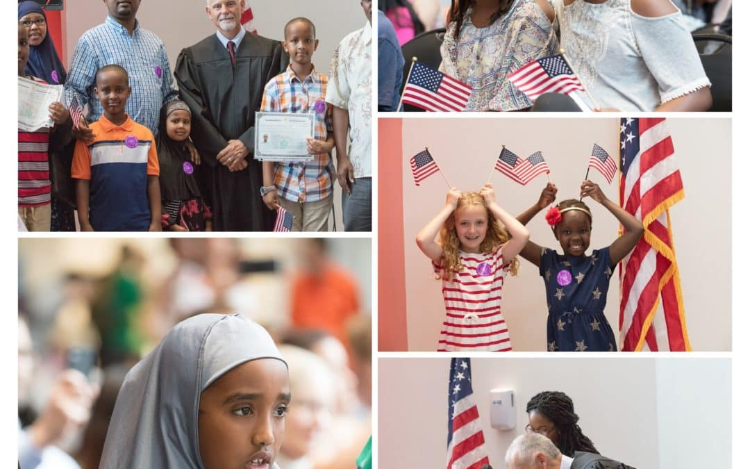 United States Naturalization Ceremony at the Museum