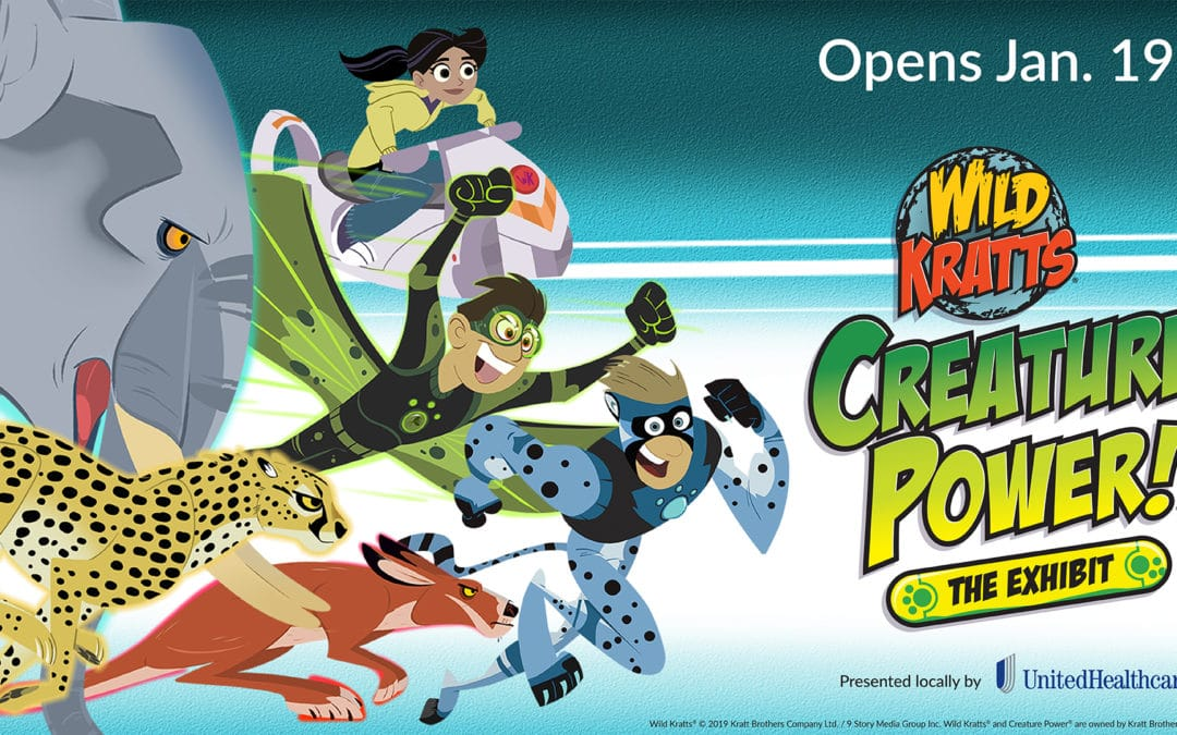 Wild Kratts®: Creature Power®! Exhibit Opens for the First Time Ever at Minnesota Children's Museum on Jan. 19