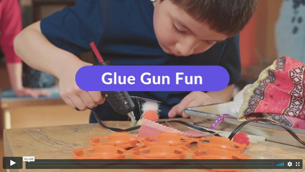 Video: Glue Gun Fun
