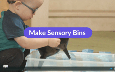 Video: Make Sensory Bins