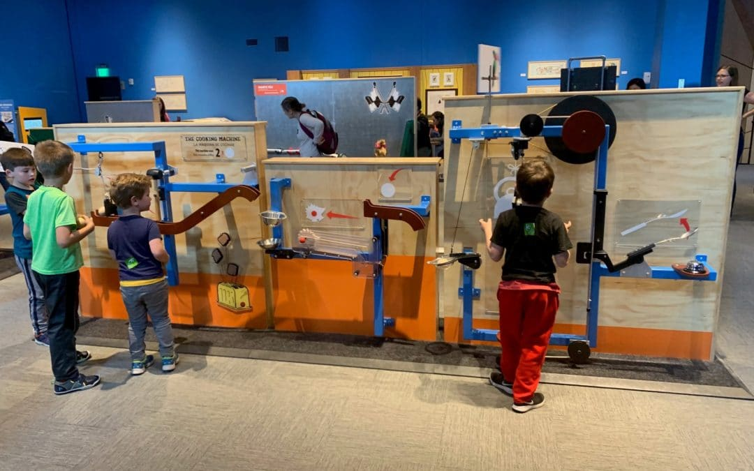 The Rube Goldberg Exhibit Is More Than Wacky Fun (Though There's Lots of That Too!)