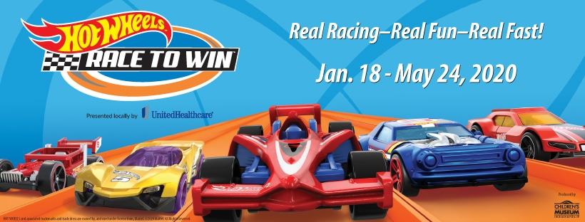 Hot Wheels: Race to Win Opens at Minnesota Children's Museum on Jan. 18