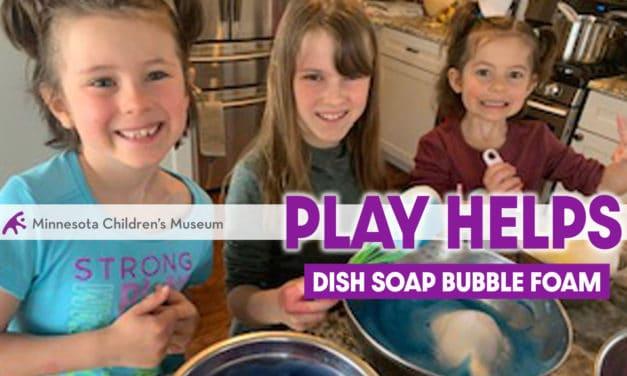 Dish Soap Bubble Foam Paint