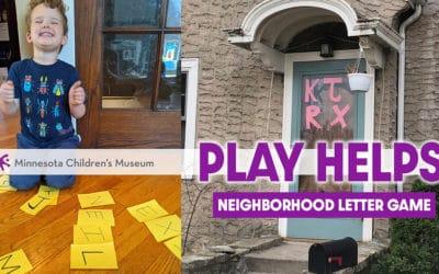 Neighborhood Letter Game