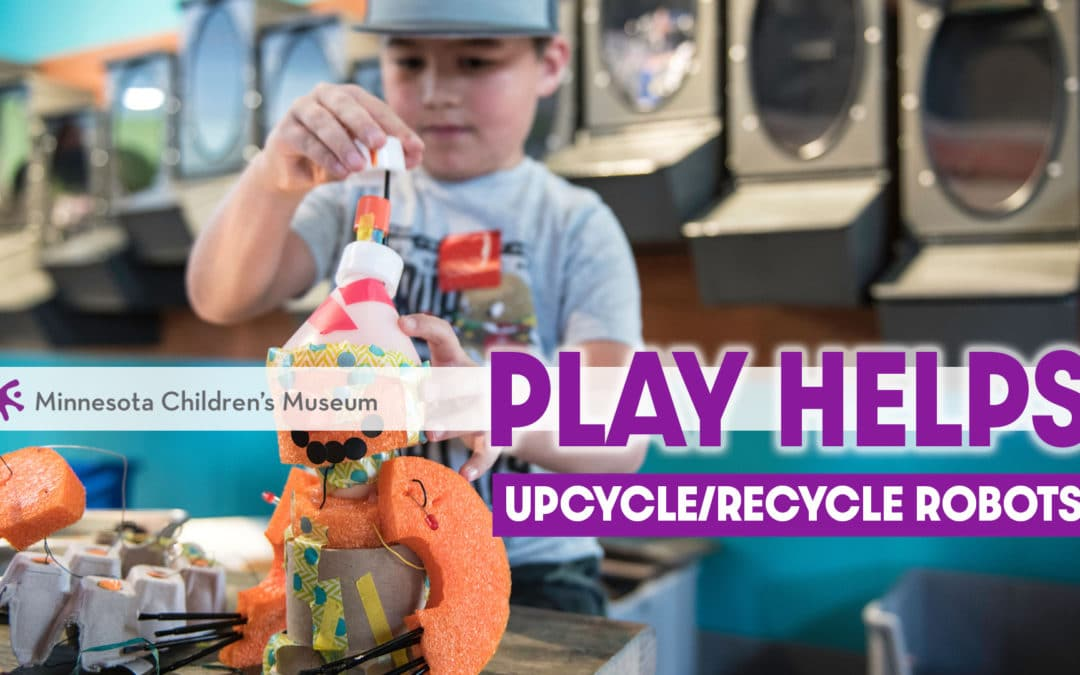 Upcycle/Recycle Robots