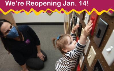 Minnesota Children's Museum to Reopen Jan. 14